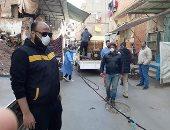 شباب مدينة عزبة البرج بدمياط يشاركون بحملة تطهير للمدينة
