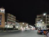 """من البلكونة.. """"يوسف"""" يشارك بصورة لشارع سوهاج خالى من المواطنين للوقاية من كورونا"""