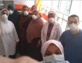 رئيس تمريض العزل بمستشفى حميات دمياط بعد تعافيها: خدوا بالكم من نظافتكم