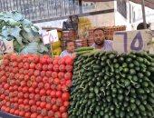 شاهد.. توفر السلع والخضراوات واللحوم بالأسواق والمحلات والشوادر بالأقصر