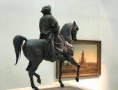 متحف فى البيت.. شاهد عمل النحات الفرنسى هنرى ألفريد بمتحف الفنون الجميلة بالإسكندرية