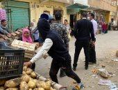 إغلاق سوقين للخضروات بمركز شبراخيت بالبحيرة لمواجهة انتشار فيروس كورونا