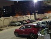 قارىء يشارك بصورة لحظر التجوال فى شارع ولى العهد بحدائق القبة
