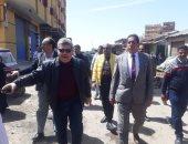 محافظة الإسكندرية تشن حملة مكبرة لفض سوق البردويل بالعامرية.. صور