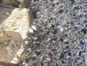 شكوى من انتشار القمامة بشارع المهدى بمنطقة روض الفرج بالقاهرة