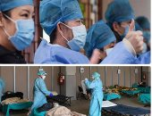 """تفاصيل وكواليس جيش الأطباء والممرضين في """"جحيم كورونا"""" بأمريكا"""