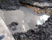 قارئ يشكو من كسر ماسورة مياه الشرب و الصرف الصحى بالمنزلة بالدقهلية