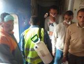 مصادر:نزول راكب بقطار الصعيد بالجيزة للاشتباه بإصابته بكورونا والسكة الحديد تنفى
