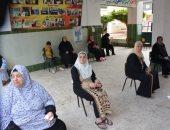 """صور.. صرف المعاشات بالمدارس وإجراءات احترازية ضد """"كورونا"""" فى الدقهلية"""