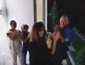 نانسى عجرم وزوجها فادى الهاشم يشاركان فى تحية الأطباء والممرضين اللبنانيين