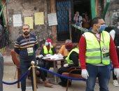 صور ..لمواجهة الكورونا..حزب الوفد بالبحيرة يدشن مبادرة لمنع تكدس المواطنين