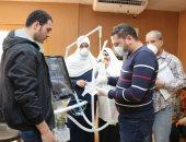 نقابة المهندسين بكفر الشيخ تتبرع بجهاز تنفس صناعي لوحدة العزل بالمستشفى العام