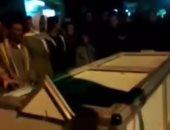 تشييع جنازة شخصين سقطا فى بيارة صرف صحى بالشرقية ... صور