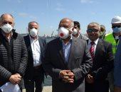 وزير النقل: إنهاء إنشاء المحطة متعددة الأغراض بميناء الإسكندرية خلال عامين