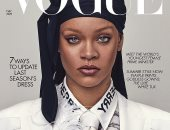 ظهرت بها على غلاف VOGUE.. تعرف عل سعر ملابس ريهانا من تصميم Burberry