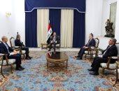 الرئيس العراقى يبحث مع سفير مصر ببغداد جهود مكافحة فيروس كورونا المستجد