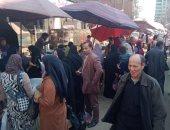 الشرطة تفض سوق قرية محلة أبو علي وتحذر الباعة الجائلين من افتراش الطريق