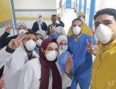مستشفى العجمى: ارتفاع عدد حالات الشفاء من فيروس كورونا لـ33 حالة حتى الآن