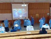 تدريب 100 عضو هيئة تمريض بمستشفى جامعة المنصورة للتعامل مع حالات كورونا