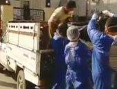 فيديو وصور.. محافظ بورسعيد يكشف تفاصيل نقل متوفى كورونا فى سيارة نقل