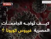 فيديو .. ماذا فعلت الجامعات المصرية لمواجهة فيروس كورونا ؟