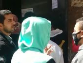 اضبط مخالفة .. زحام بسنترال بشتيل بإمبابة رغم التحذيرات من التجمعات (فيديو)