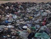 أهالى قرية برطباط بالمنيا يطالبون عدم حرق القمامة بالقرب من المساكن