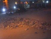 قارئة تشكو من استمرار تراكم القمامة فى النهضة العبد 1200 بمحافظة القاهرة