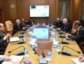 """بحث التعاون المشترك بين """"الإنتاج الحربى"""" و""""اقتصادية قناة السويس"""""""