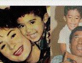 فى ذكرى عيد ميلاده.. هيثم أحمد زكى يطفئ شمعته الـ 36 مع والده ووالدته