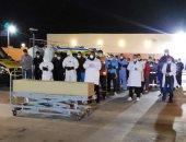"""أطباء """"النجيلة"""" يؤدون صلاة الجنازة على جثمان متوفاة بـ""""كورونا"""" قبل نقلها للإسكندرية"""