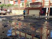سكان شارع عبد الحميد البندارى ببولاق الدكرور يطالبون بتطهير بلاعات الصرف