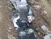 شكوى من تراكم مياه الصرف الصحى بشارع فاروق مبروك فى بشتيل بالجيزة