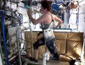 رواد ناسا يشاركون تمارينهم من الفضاء لتحفيز سكان الأرض على مواجهة كورونا.. صور