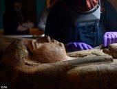 مفاجأة .. اكتشاف لوحات داخل تابوت مومياء مصرية عمرها 3000 سنة باسكتلندا