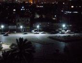 من البلكونة محمد شوقى يشارك بصورة لباب الشعرية وقت الحظر
