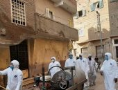 رئيس مدينة الشهداء : تكثيف أعمال التطهير والتعقيم بالمدينة