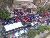 قارئ يشكو انتشار الباعة الجائلين وإقامة سوق بشارع أحمد فؤاد بمدينة نصر