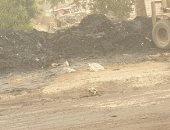 شكوى من انتشار القمامة برشاح عزبة الأبيض أبو زعبل محافظة القليوبية