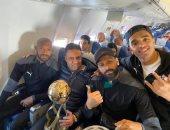 حمادة أنور: بن شرقى وأوناجم فى طريقهما للعودة إلى القاهرة و لاحديث عن الصفقات حاليا