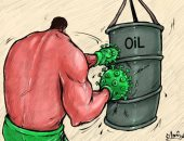 كاريكاتير صحيفة إماراتية.. كورونا هدد سوق النفط