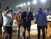 محافظ الجيزة: استغلال ساعات حظر التجوال فى تطهير وتعقيم الشوارع