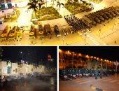 القوات المسلحة تنفذ عمليات تعقيم لميدان رمسيس ومحطة القطارات.. فيديو