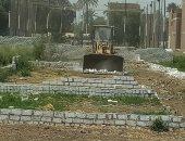 إزالة 6 حالات تعدى على الأراضى الزراعية بمدينة المراغة فى سوهاج