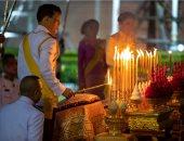 """فى ذكرى تأسيسه لسلالة الحكم.. ملك تايلاند يزور  نصب """"راما الأول""""..صور"""