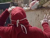 رفع 10 طن من القمامة والمخلفات الصلبة بقرية جزيرة شندويل بسوهاج