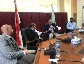 """وكيل """"صحة الشرقية"""" يناقش مع رئيس جهاز العاشر إضافة خدمات طبية بالمدينة"""
