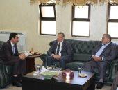 وزير الصحة الأردنى يطلع على المخزون الاستراتيجى للأدوية