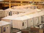 مركز مؤتمرات نيو أورليانز بأمريكا يتحول لمستشفى لعلاج مصابى كورونا.. صور