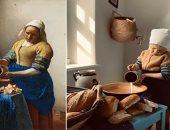 قلد اللوحة.. متحف أمريكى يطلق مبادرة لجمهور العالم بسبب كرونا .. اعرفها